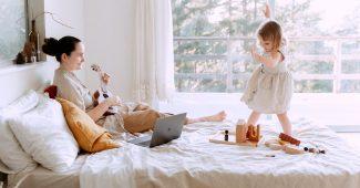 Mor, barn og musik