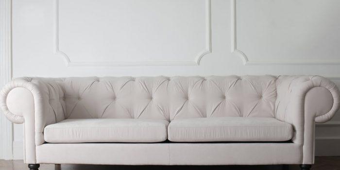 Hvid sofa