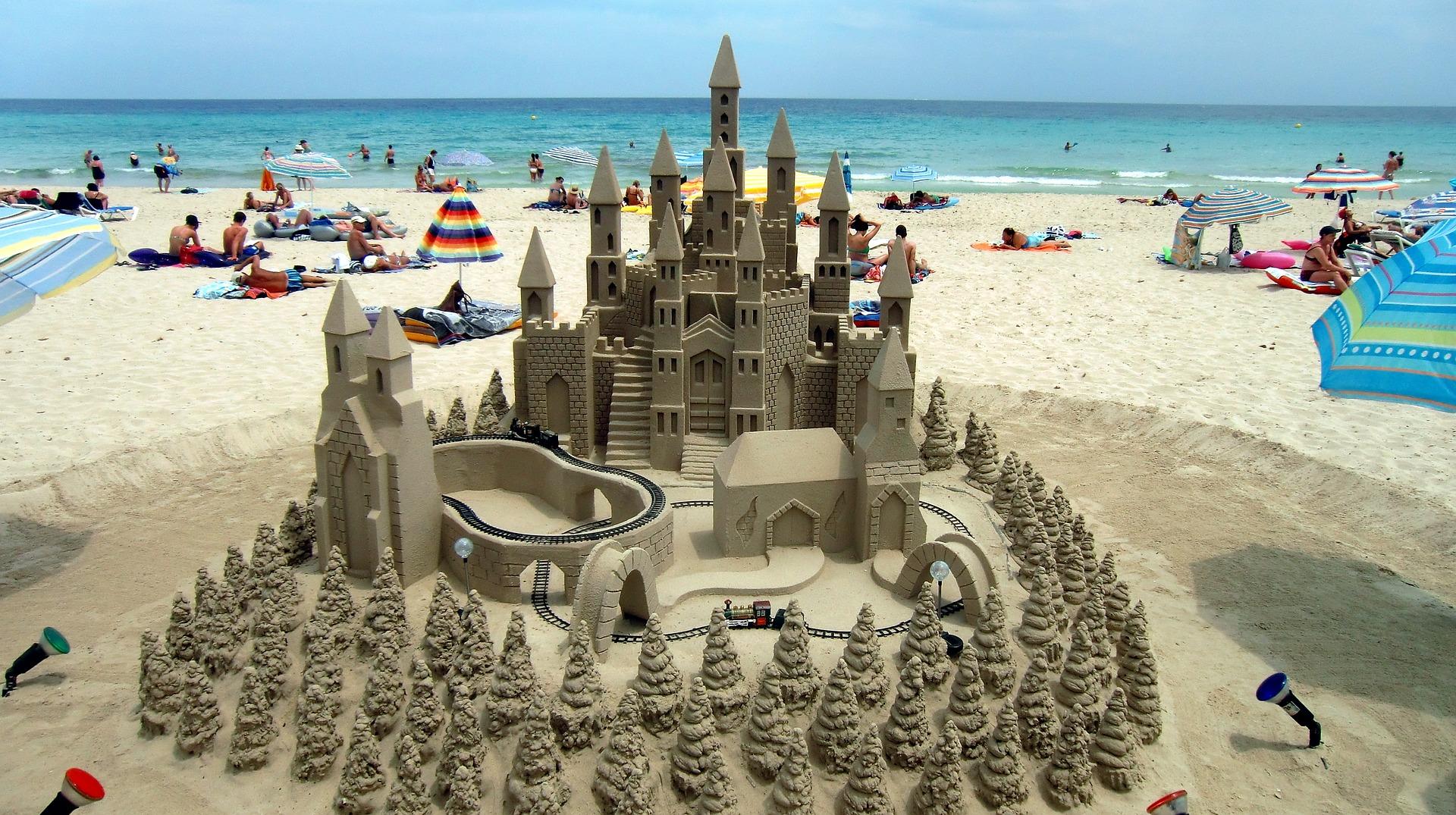 Besøg strandene på Mallorca med børnene